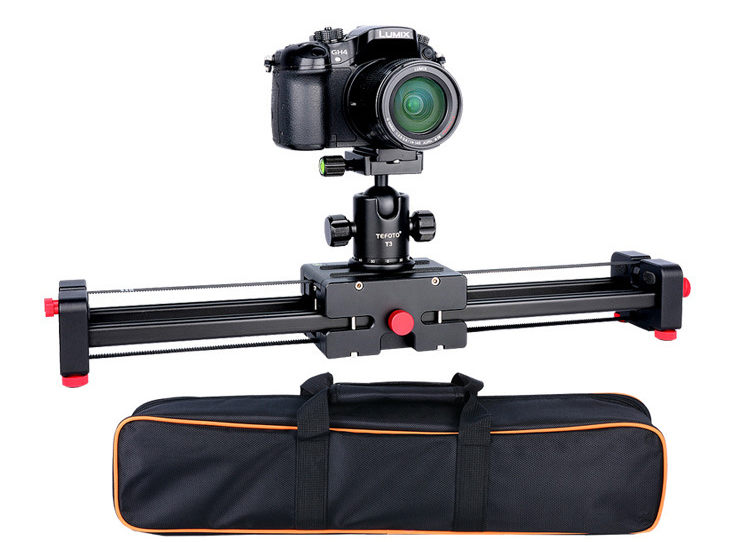 Camera Video Slider Dolly 50cm Track Rail Stabilizer Double Distance 100cm Sliding for Canon Nikon Sony DSLR DV Camera Dolly ulanzi 40cm 15in mini aluminum camera video track dolly slider rail system for nikon canon dslr camera dv movie vlogging gear