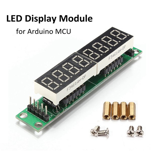 2017 New Arrival MAX7219 Red Module Board 8-Digit 7 Segment Digital LED Display Tube For Arduino MCU