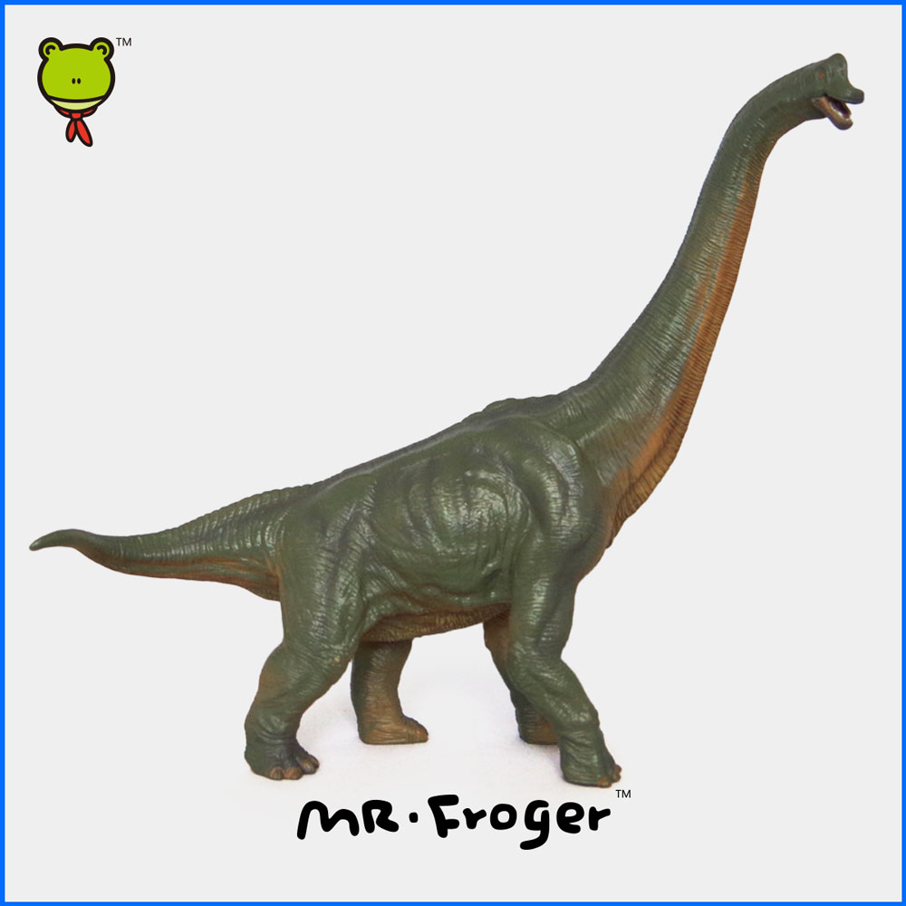 ФОТО Mr.Froger Sauroposeidon model toy Big Dinosaur Large Great bigger Classic Toys Children Animal Models collection PVC Solid cute