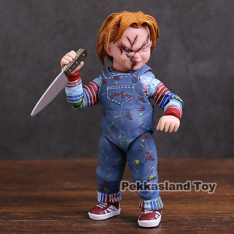 NECA GOOD GUYS CHUCKY Doll PVC Action Figure Collectible Model Toy