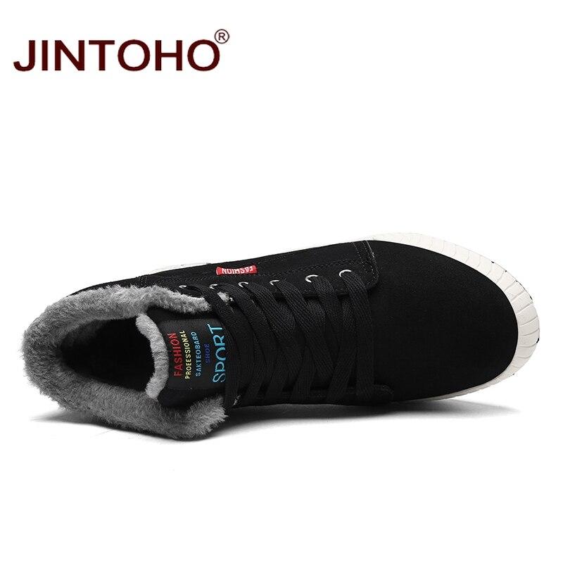 uomini stivali blu causale buon verde Jintoho invernali mercato 2018 scarpe nero il moda di neve a Marca pelle adulto nuovi per qHwAYwE
