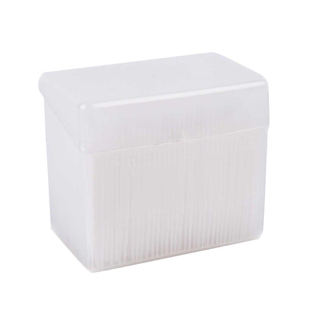 1 Box = 1100pcs 2 Vie Interdentale Pennello Stuzzicadenti di Plastica Dentale Picks Igiene Orale 6.5 centimetri Stuzzicadenti
