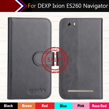 Factory Direct! DEXP Ixion ES260 Navigator Case 6 Colors Dedicated Leather Exclusive 100% Special Phone Cover Cases+Tracking