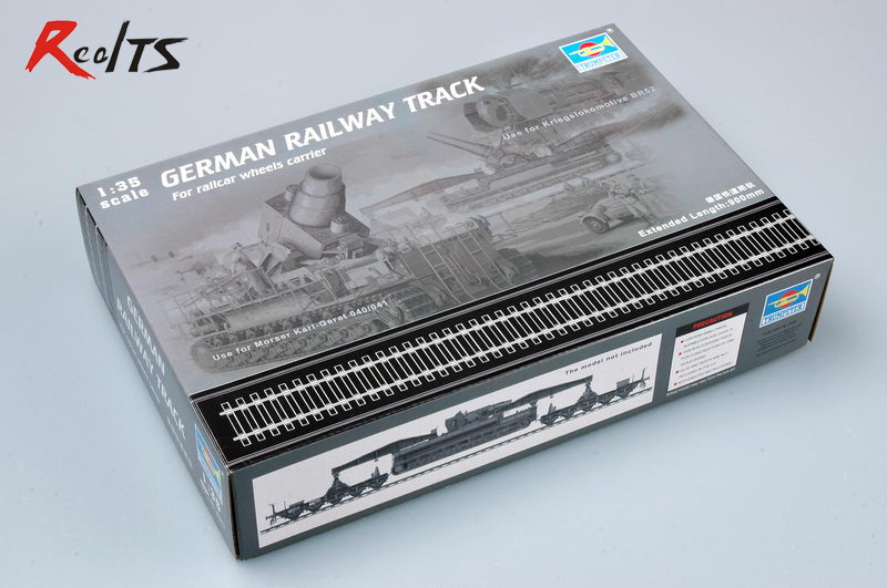 RealTS <font><b>Trumpeter</b></font> 00213 <font><b>1/35</b></font> German Railway Track Set image