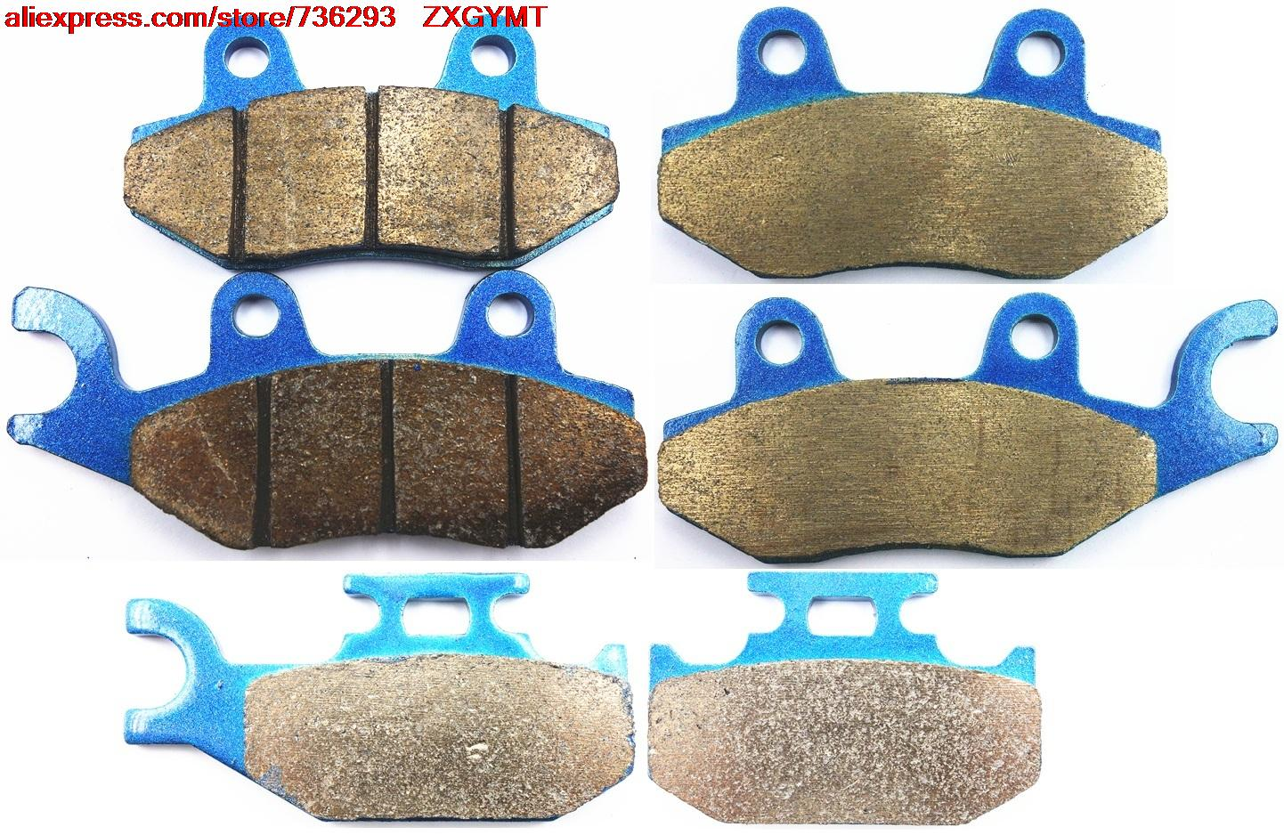 Sintering Motorcycle Brake Pads Set fit YAMAHA YFM700 YFM 700 R Raptor 2006 - 2008