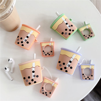 3D Bubble tea airpod case