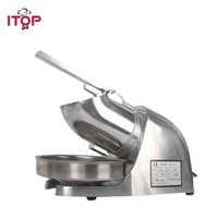 Máquina trituradora de hielo eléctrica ITOP máquina comercial mezcladora de coctelera procesadores de alimentos UE/EE. UU./enchufe del Reino Unido