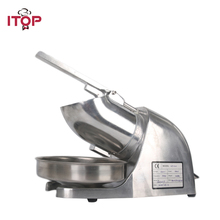цена на ITOP Electric Ice Crushers Shavers Machine Commercial Smoothie Cocktail Maker Food Processors EU/US/UK Plug