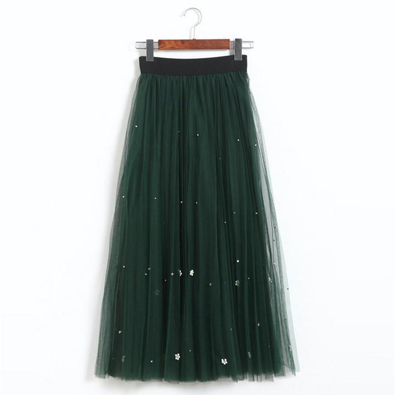 lace long skirt 06