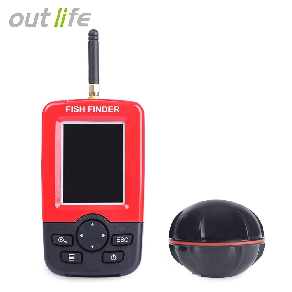 Buy outlife smart portable fish finder for Wireless fish finder