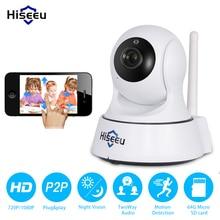 Мини Беспроводной IP Камера Wi-Fi 1080 P 720 P вариант Smart ночного видения наблюдения Onvif сеть видеонаблюдения Камера Wi-Fi hiseeu