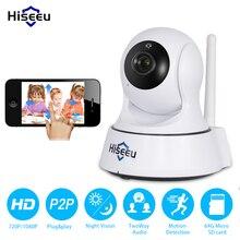 Mini Cámara IP Inalámbrica Wifi 1080 P 720 P Opción Inteligente Visión Nocturna Onvif Red de Vigilancia CCTV Cámara de Seguridad wi-fi hiseeu