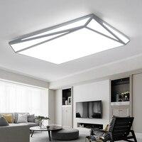 Акриловые современные светодиодные потолочные светильники для гостиной, спальни, столовой, комнатная потолочная лампа освещение, осветите