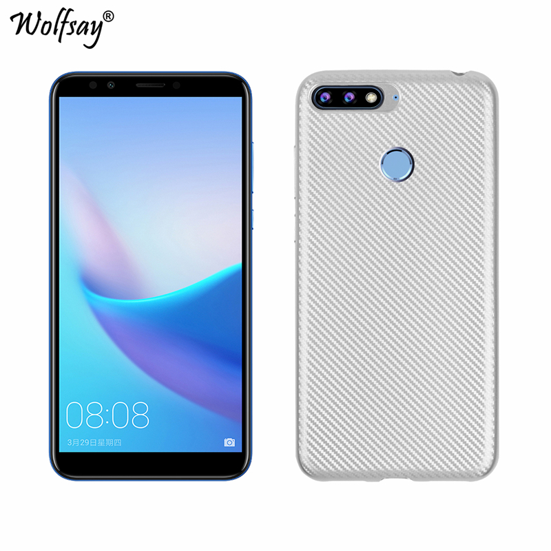 WolfRule Huawei Honor 7A Pro Case Soft Silicone Rubber Phone For Cover Coque Fundas 5.7