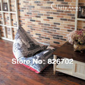 Wholesale  Large Bean Bag Chairs Lounge  Sofa Covers Removable And Washable Eiffel Tower  Bean Bag 123X115X 90cm