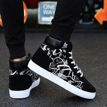2019 Plus Size 39-44 Brand Men Sneakers Platform Shoes Breat