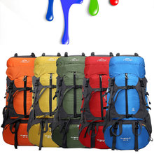 New 80L Large Capacity Outdoor Climbing Professional Brand Sports Mountaineering Bag Rucksack Water-proof Travel Bag