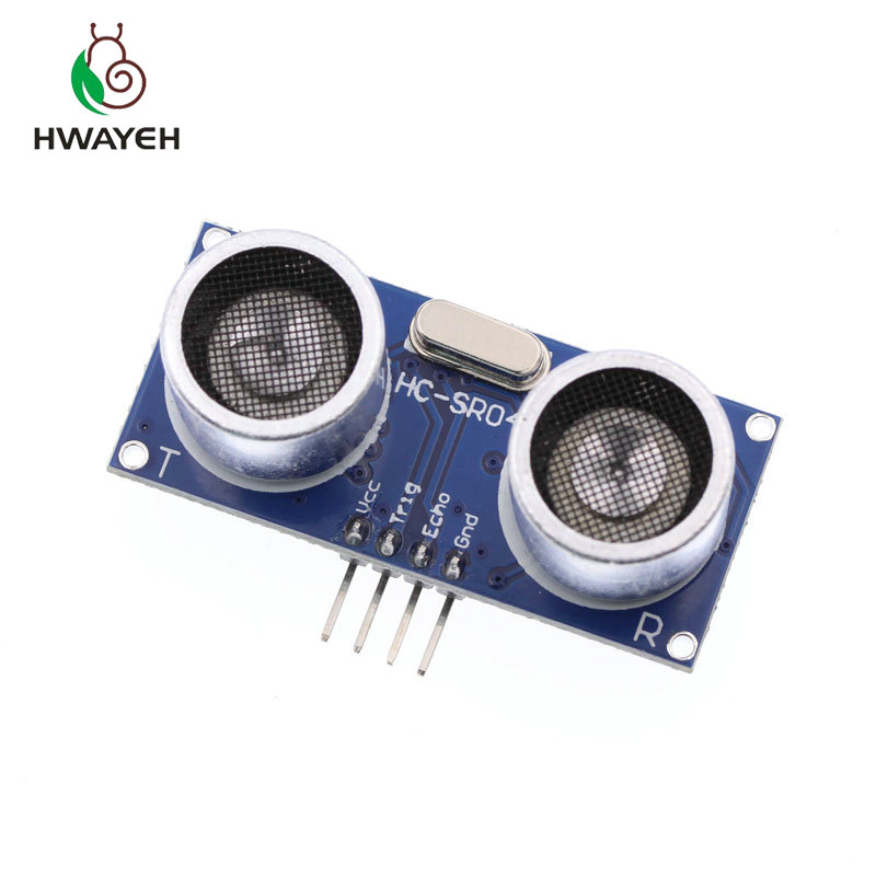 จัดส่งฟรี HC-SR04 HCSR04 World Ultrasonic Wave Detector โมดูล HC-SR04 HC  SR04 HCSR04 ระยะทาง Sensor