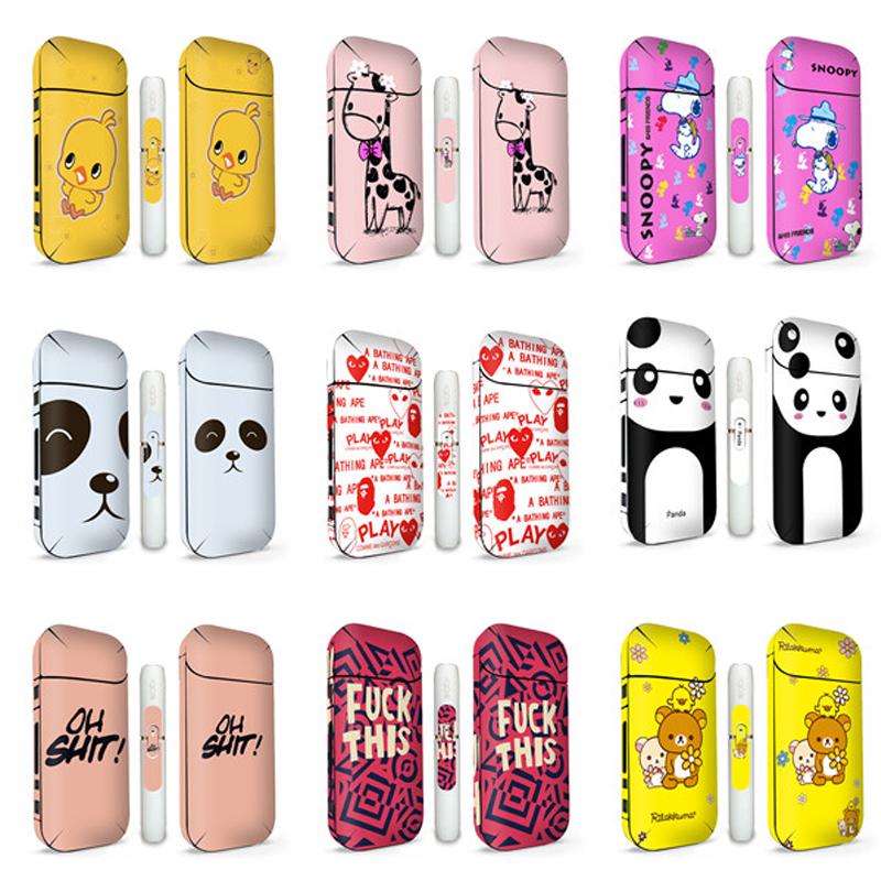 New Design IQOS Skin Case Anti Scratch Cover Thicker For IQOS Sticker