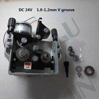 76ZY-04  DC24 1.0-1.2mm 2.0-21m/Min Mig Wire Feeder Motor Feeding Machine 1PK for MIG MAG Welding Machine