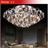 Luxury K9 Crystal Chandelier LED Crystal Ceiling Lights Living Room Dining Room Chandelier Lamp Lighting Aisle