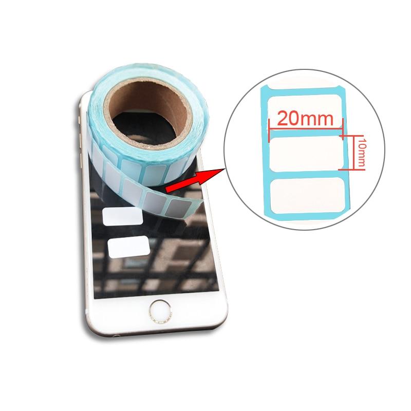 Купить с кэшбэком 20*10mm Adhesive Thermal Label Sticker Paper Supermarket Price Blank Label Direct Print Waterproof 700pcs/Roll