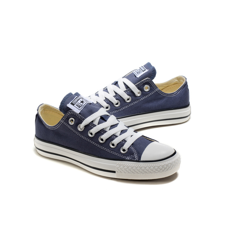 076e33e45fb046 Converse Classic Canvas Low Top badminton Shoes Unisex Blue Anti Slippery  Sneakser 35 44-in Badminton Shoes from Sports   Entertainment on  Aliexpress.com ...