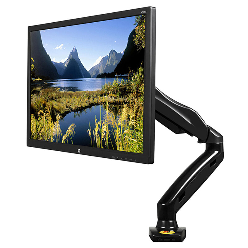 FREE SHIPPING NB F80 Desktop17 27 quot LCD LED Monitor Holder Arm Gas Spring Full Motion TV Mount Loading 2 6 5kgs in TV Mount from Consumer Electronics