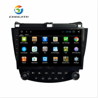 ChoGath 10 Inch Android 7.0 car radio GPS Navigation for HONDA Accord 7 2003 2004 2005 2006 2007 support steeling wheel control