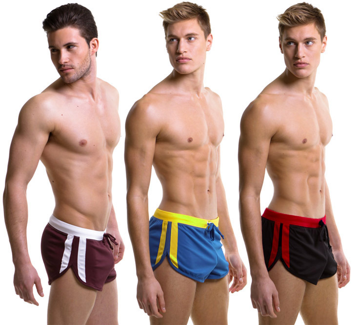 Free shipping Male Swimming trunks   Shorts   Men swimwear   short   Pants Man beach surf   board     shorts   Hot pants running workout   shorts