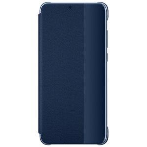 Image 2 - 100% רשמי מקורי Huawei P20 פרו מקרה להתעורר/שינה ציפוי מראה חלון Flip כיסוי עבור Huawei P20 מקרה תצוגה חכמה מקרה