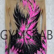 Стиль, платье для гимнастики ритмики, женский костюм для гимнастики 91011