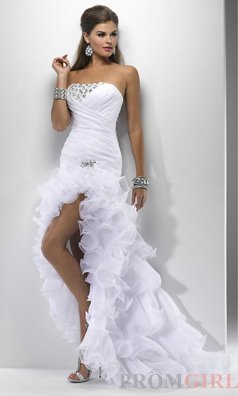 Mermaid Short Wedding Dress