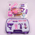 Hot Sale 14 Pieces Children Kids Simulation Doctor Play Set Nurse Medicine Box Pretend Play Classic Toys For Girl Play house toy