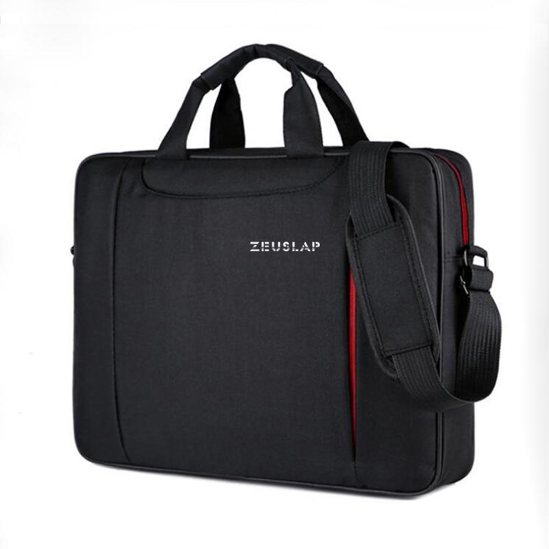 ZEUSLAP Laptop Schulter Tasche 11 12 13,3 14,1 15,4 15,6 Wasserdicht Nylon Notebook Messenger Hand Tasche für Dell 14 15,6 laptop Tasche
