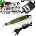 Бесплатная доставка  электрические инструменты  Мини дрель  для резьбы полировки с 161 pc многофункциональная гравировальная машина  Электри...