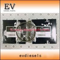 Натуральная l3e комплект поршневых колец mm433 152 для Mitsubishi Двигатели для автомобиля генераторной установки l3e