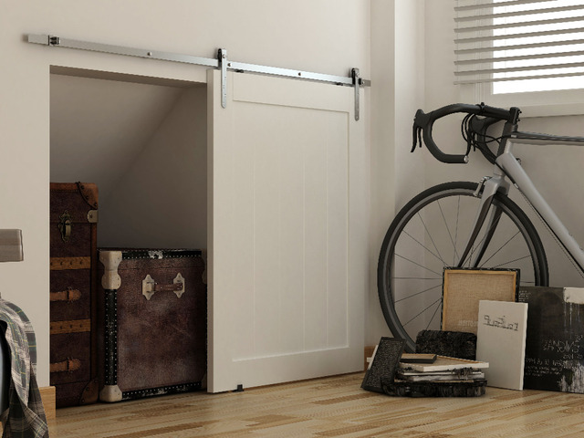 """DIYHD 39"""" Brushed Stainless Steel Mini Strap Cabinet Barn"""