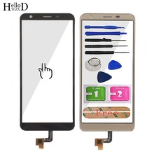 Mobile Touch Screen For Oukitel C11 Pro TouchScreen Phone Front Glass 5.45 Digitizer Panel Sensor Repair Tools Adhesive