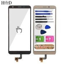 Mobilny ekran dotykowy dla Oukitel C11 Pro ekran dotykowy telefon szkło przednie 5.45 digitizer panel dotykowy narzędzia do naprawy klej