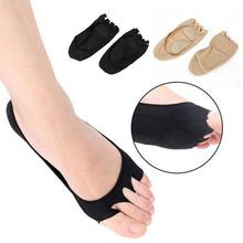 Plantar Fasciitis Arch Support Insole Pedicure Socks Massage Toe Invisible Open Toe Socks Pain Relief Orthopedic Foot Care