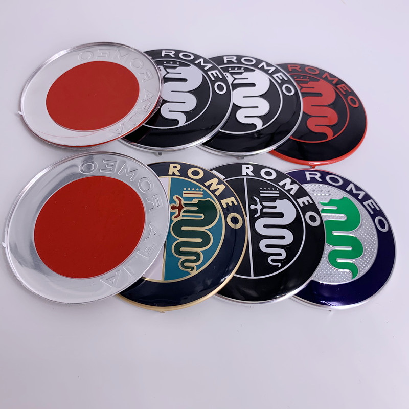 Sticker Badge Mito Rear-Emblem Spider-Gt 74mm Alfa Romeo Giulietta Front 159 Trunk  title=