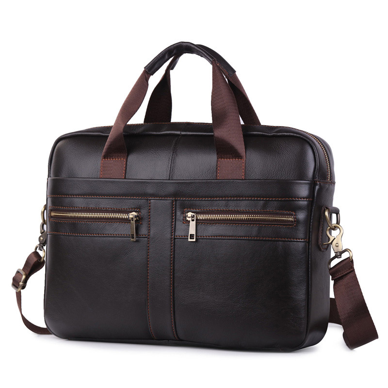 Large Men Laptop Handbags Male Bussiness Shoulder Bag Casual Solid Crossbody Messenger Bag For Man Portable Big Briefcase XA173C