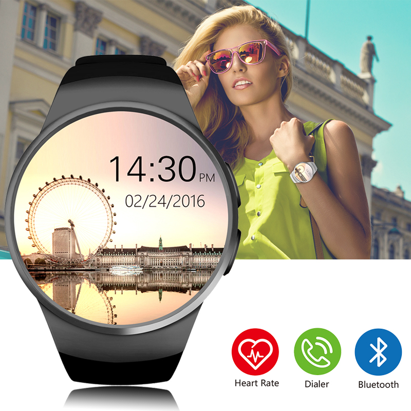 KW18 Bluetooth smart watch Support SIM TF Card Heart Rate Monitor Clock Full Screen Waterproof Smartwatch For Android iSO Phone барбоскины наклей и раскрась