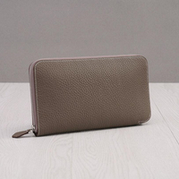 تصميم النساء حقيقية محفظة جلدية عالية شيك العلامة التجارية تصميم سيدة ستاندرد محافظ سهلة مطابقة مخلب اليد حقيبة dd089