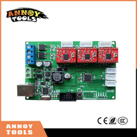 Free Shipping GRBL Benbox USB Port Cnc Engraving Machine Control Board 3 Axis Control Support Laser