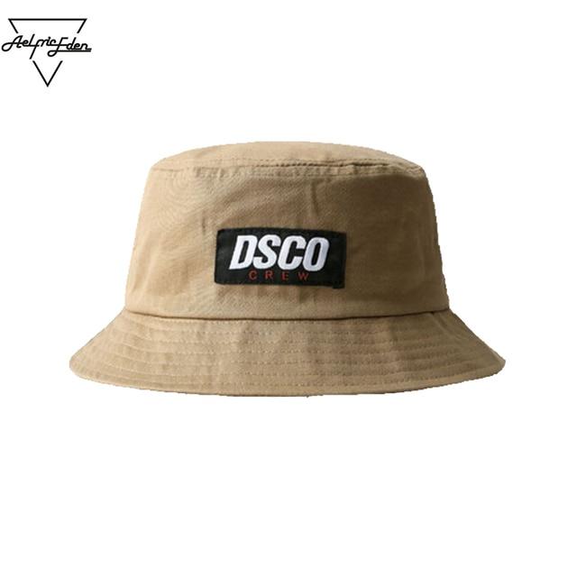 1349cda7746b6 Aelfric Eden Unisex New Design DSCO CREW Patch Bucket Hats Hip Hop  Skateboard Fashion Dome Causal