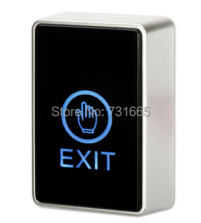 Touch screen Exit switch & push button switch for access control system Touch Sensor Door Exit Release Button Switch LED LightTouch screen Exit switch & push button switch for access control system Touch Sensor Door Exit Release Button Switch LED Light