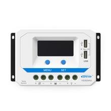 Régulateur de Charge pour panneaux solaires, WY, 10a, 20a, 30A, 45a, 60a, VS1024AU VS 2024AU VS4524AU VS6024AU, 12V 24V, epviewstar