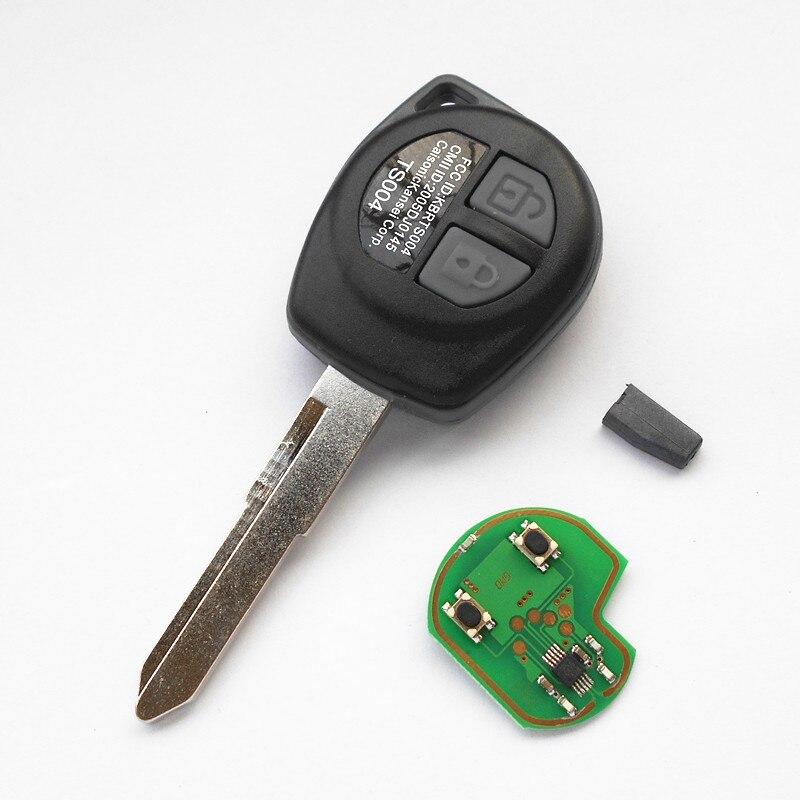 Prix pour 2 Boutons À Distance Clé 315 MHz 433 MHz pour Vauxhall Marque Opel Agila D'entrée Sans Clé de Voiture TS002 TS004